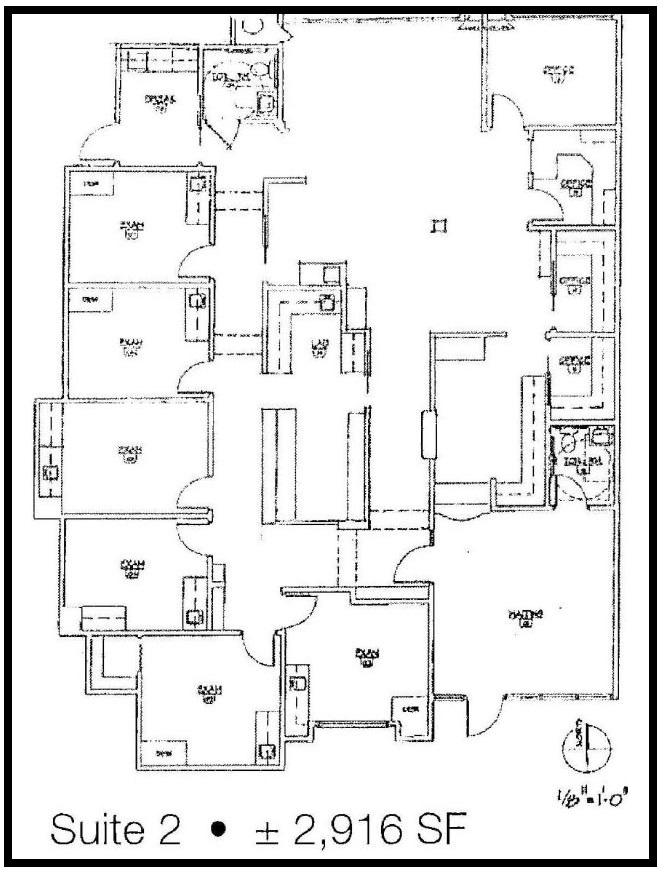 Suite 2 floor plan